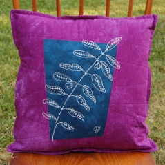 plum-navy-olive-botanical-sketch-pillow-2