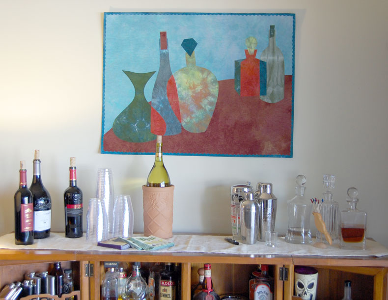 Still Life of the Party in situ (3)