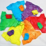 Tutorial for My Easy, Go-To Baby Shower Gift: A Rainbow Of Dyed Onesies