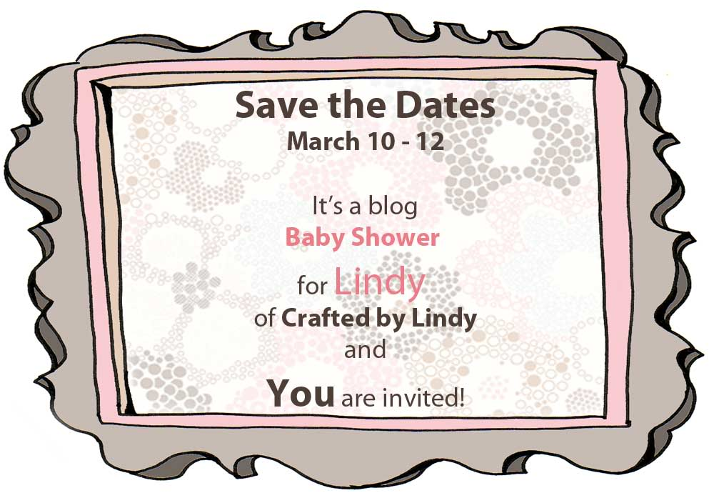 Save The Date: A Blog Baby Shower!