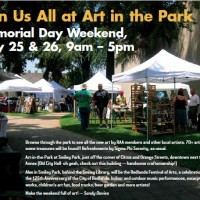 Art in the Park! Saturday & Sunday of Memorial Day Weekend