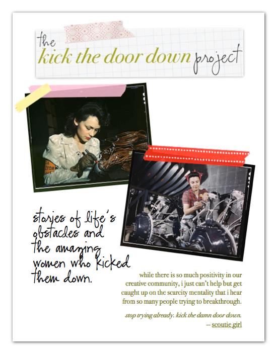 Kick the Door Down Project ezine