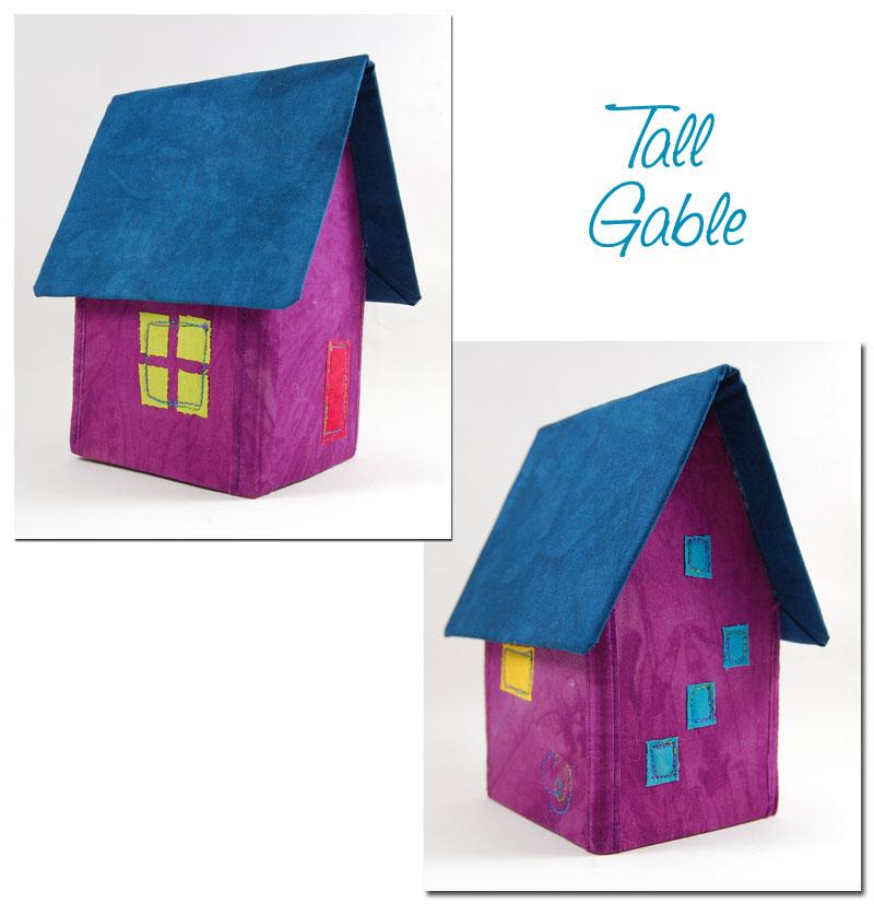 gable house model mini