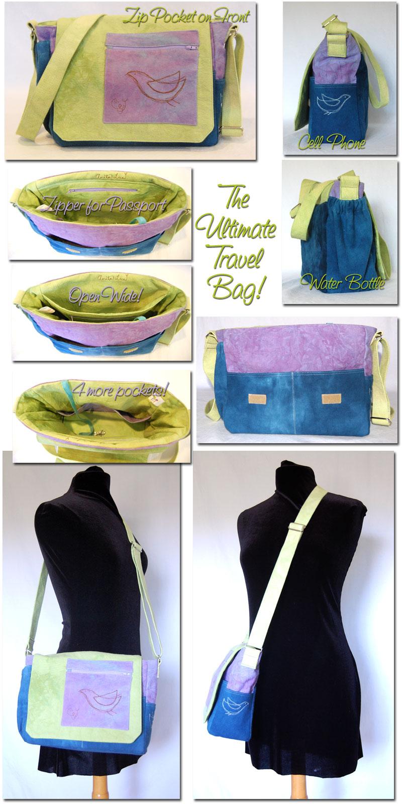 messenger bag, custom, travel