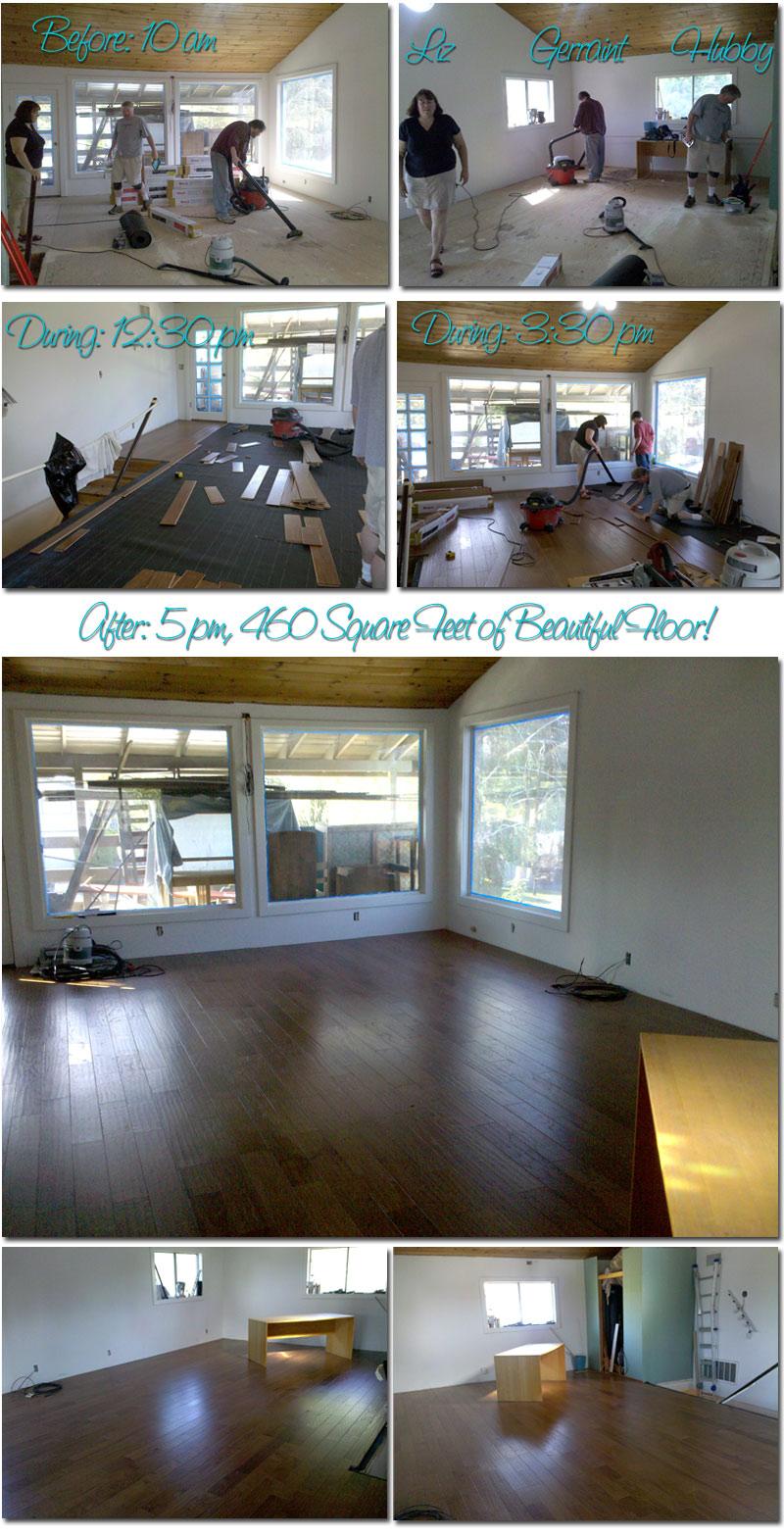 do it yourself, hardwood floor installation, remodel