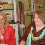 One Moment: Taping for Quilting Arts TV