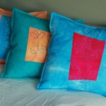 A few pillows – inspired by buttons!