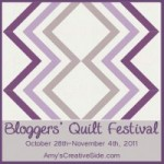 Are you ready for Blogger's Quilt Festival?