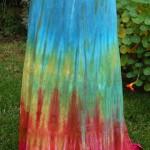 Custom Dyed Rayon Skirts and Shirt