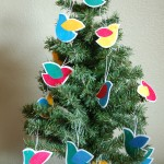 Bird Ornaments for a School Fundraiser