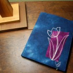A Steno Pad Notetaker for a Tulip Lovin' Gal