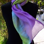 Studio Snapshots | New Commission Color Palette for Hand Dyed Silk Scarves