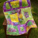 "New Art Quilt | ""The Flowers of Giverny"""