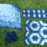 Snapshots from the Studio | Indigo Shibori