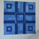 Beautiful Indigo Art Quilt by Victoria Gertenbach!
