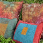 New Linen Pillows in my Autumn Splendor Palette!