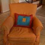 New Slipcover for Hubby's Favorite Chair Complete!