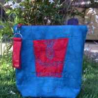 A Thistle Zip Bag for Liz