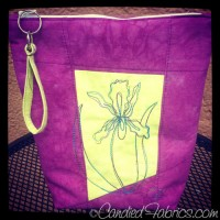An Iris Zip Bag for an Awesome Friend