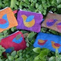 New Zip Wallets in an Autumn Splendor Palette