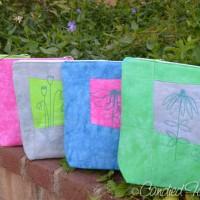 Zip Bags in my new Spring Greens Palette