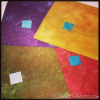 Snapshots from the Studio | A Reversible Quilt with Random Squares