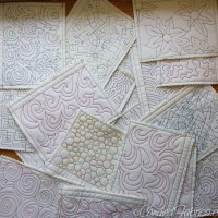 Studio Snapshots | Building a Sampler Book for Free Motion Quilting Motifs