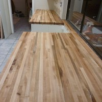 Our Kitchen Reno | Maple Countertops are IN!