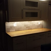 Our Kitchen Reno | Light Rails and Under Cabinet Lighting