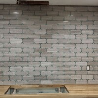Our Kitchen Reno | Limestone Tile!