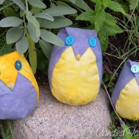 3 Cute Owls for 2 Cute Little Girls