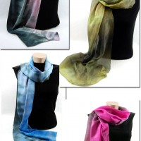 Studio Snapshots | Dyeing my Winter Palette Scarves