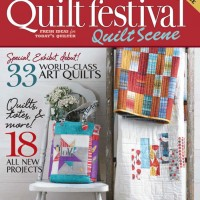 Winner of the Quilt Scene 2013 Magazine