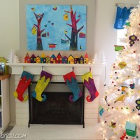 Artist Advent Calendar at Stephanie Levy's Blog