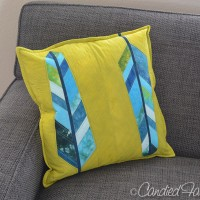 New Feather Pillows for the Couch!