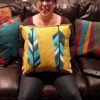From the Workshop of Candy Claus | Another Feather Pillow!