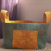 Latest from the Studio | A Commissioned Linen Basket