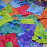 Studio Snapshots | 2 Modulating Squares Quilts for My Boys!