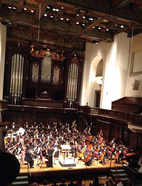 Cymo concert jan 2013