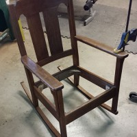 Snapshots from the Studio (Garage) | Repairing Our Mission Rocker