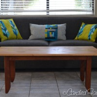 My Hubby is Awesome | Our New Coffee Table