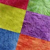 Studio Snapshots | A Free Motion Quilting Sampler Quilt