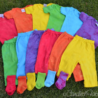 Hand Dyed Baby Layette for Lathan
