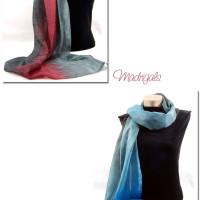 Studio Snapshot | Dyeing my Winter Palette Scarves