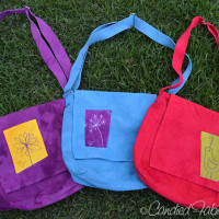 Going Green Totes | Last Things Made for Art in the Park!