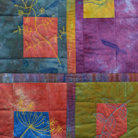 Blogger's Quilt Festival 2014 |  Sketches from an Olive Avenue Autumn