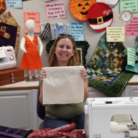Another Fun FMQ Class at the Redlands Sewing Center