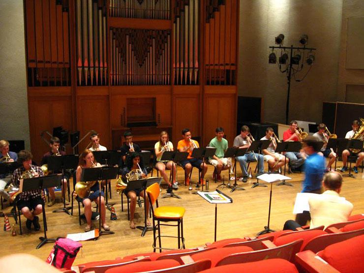 NYO-rehearsal