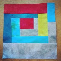 Studio Snapshots | Improv Stripes and Log Cabin Pillows Process