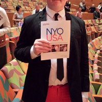 Liam's Amazing Cross Country Concert Tour with the NYO-USA